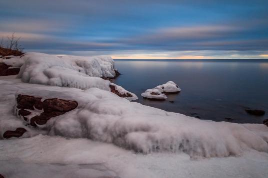 Frozen Shore Series 8 - Lake Superior, MN