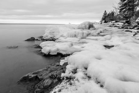 Frozen Shore Series 9 - Lake Superior, MN
