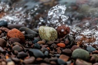 Splashing on the rocks - Two Harbors, MN