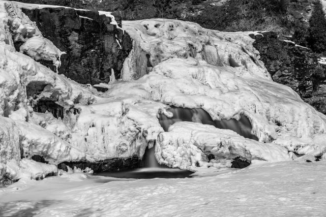 Frozen Falls - Gooseberry Falls, MN