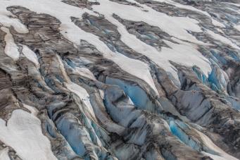Mountain Glaciers - Kenai, Alaska