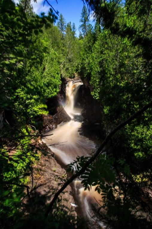 Cascade River Falls - Cascade River State Park, MN
