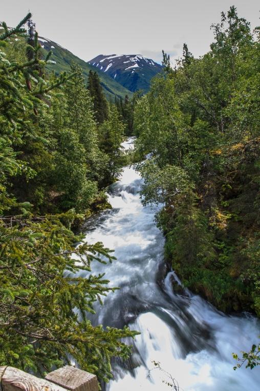 Russian River Falls - Kenai Peninsula, Alaska