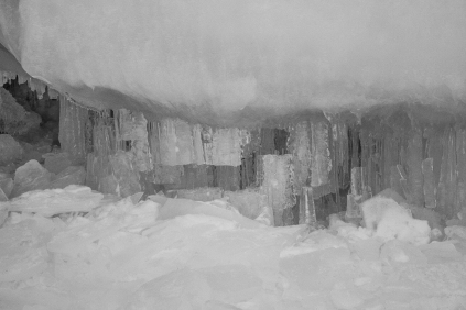 Apostle Islands Ice Caves - Lake Superior Shore, Wisconsin