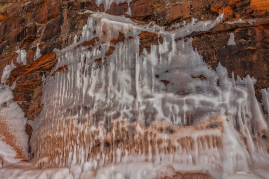 Apostle Islands Ice Caves - Lake Superior Shore, Wisconsin