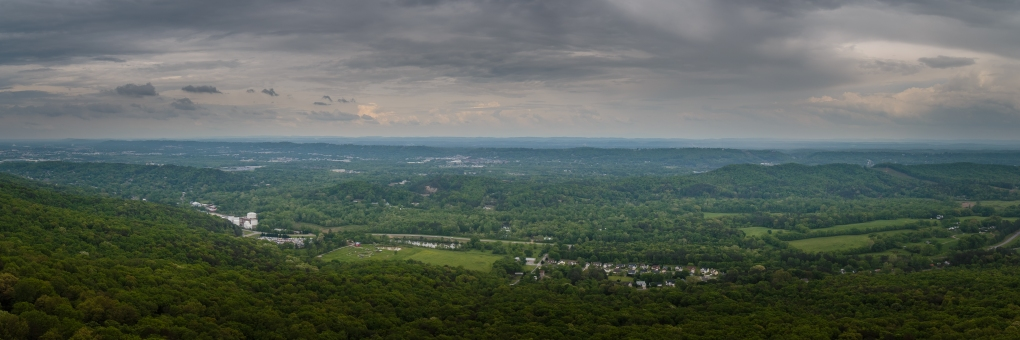 7 State View - Lookout Mountain, Georgia