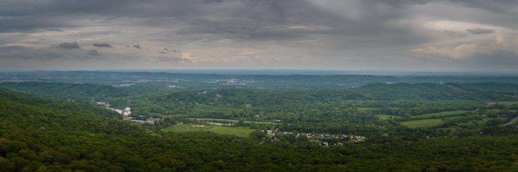 7 State View - Lookout Mountain, Georgia