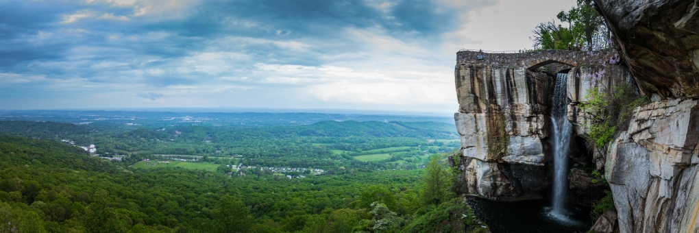 7 State View and Lover's Leap - Lookout Mountain, Georgia