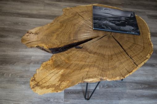 Oak Slab Coffee Table