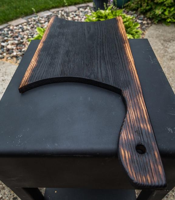 Charred Oak Serving Board