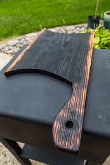 Charred Oak Serving Board
