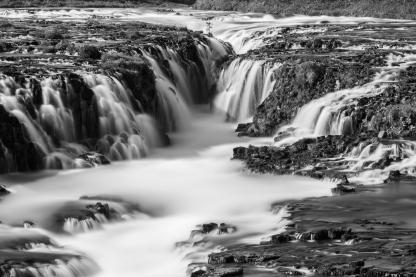 Bruarfoss Waterfall - Iceland