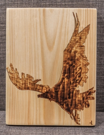 Raven Wood-Burn