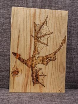 Game of Thrones Dragon Wood-Burn