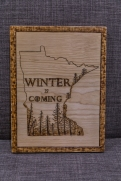 Minnesota State GoT Inspired Wood-Burn