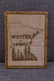Minnesota State GoT Inspired Wood-Burn