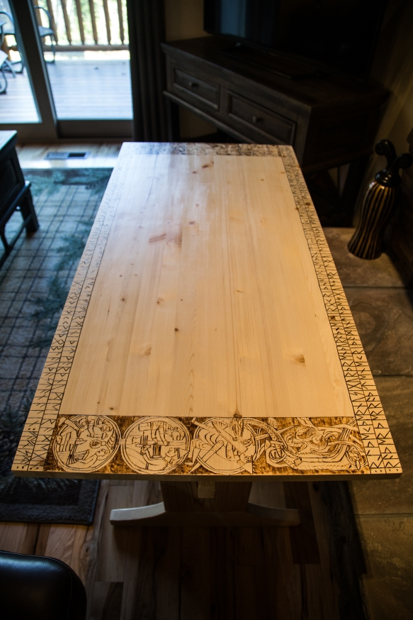 Runic Story Table - Fafnismal