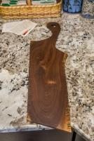 Black Walnut Runic Cutting/Serving Board
