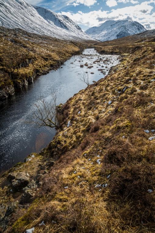 The River Etive - Glencoe Passes, Scotland