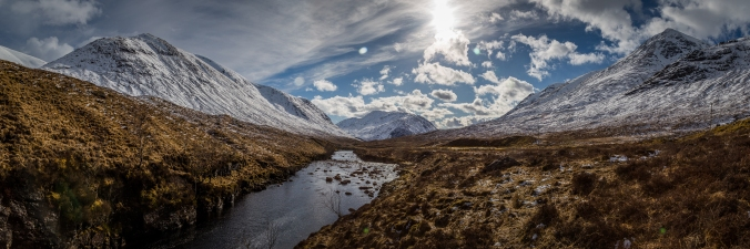 The River Etive - Glencoe Passes, Scotland