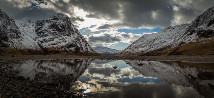 Bidean Nam Bian - Glencoe Passes, Scotland