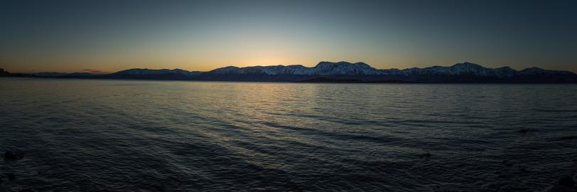 Sunset on the Loch - Loch Linnhe, Scotland