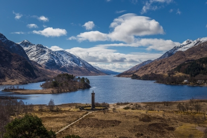 Glen Finnan and Loch Shiel - Glenfinnan Monument, Scotland
