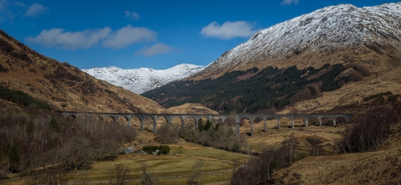 Viaduct from Harry Potter Films - Glenfinnan Viaduct, Scotland