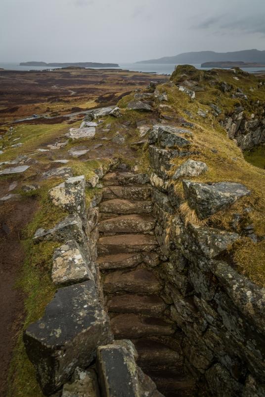 Hill Tower Ruins - Isle of Skye, Scotland