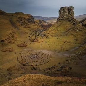 Fairy Glen - Isle of Skye, Scotland