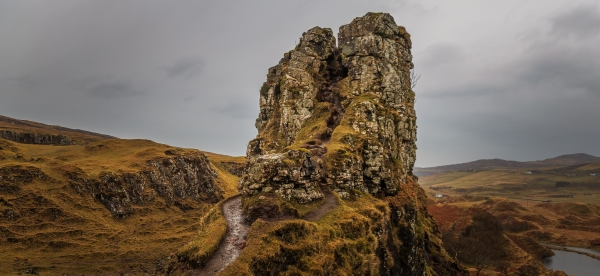 Fairy Glen - Isle of Skye, Scotland