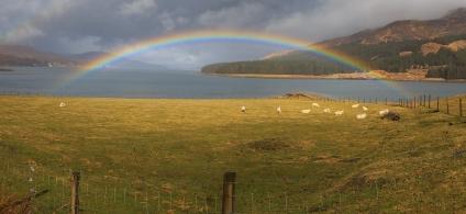 Rainbow on the Loch - Scotland