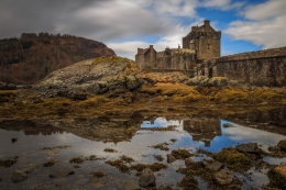 Castle Reflections - Eilean Donan Castle, Scotland