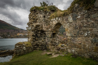 Castle Ruins - Strome Castle, Scotland