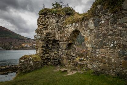 Castle Ruins - Strome Castle, Scotland