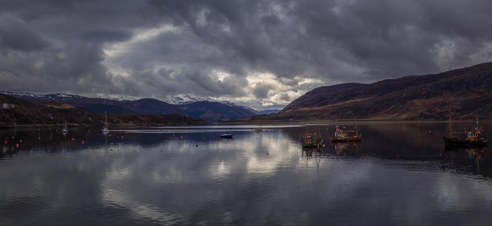 Ullapool Harbor - Ullapool, Scotland