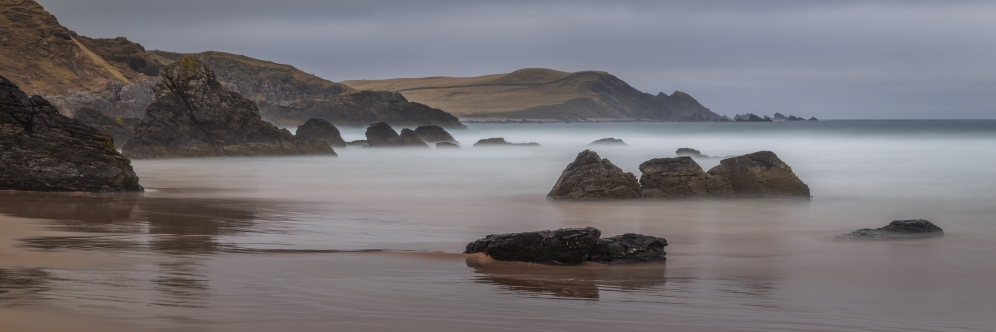 Long Beach Exposure - Durness Beach, Scotland