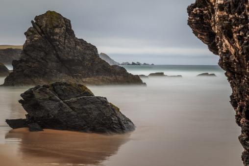 Long Beach Exposure - Durness Beach, Scotland