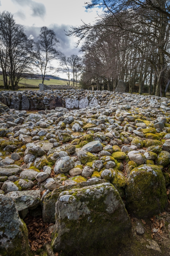 Clava Cairns - Near Culloden Battlefield, Inverness, Scotland
