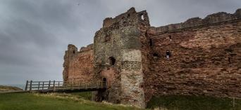 Tantallon Ruins - Tantallon Castle, England