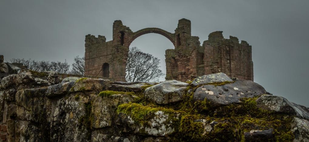 Abbey Ruins - Lindisfarne Abbey, England