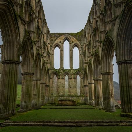 Abbey Ruins - Rievaulx Abbey, North York Moors National Park, England