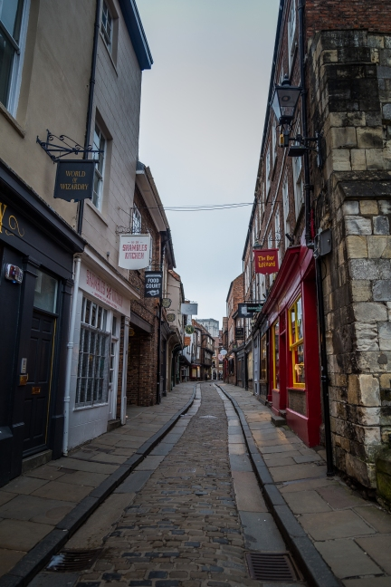 Diagon Alley/ Streets of York - York, England