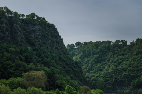 Lorelei Rock on the Rhine River