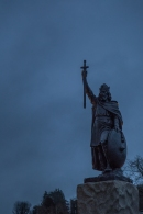 Statue of Alfred the Great - Winchester, England