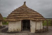 Neolithic Dwelling at Stone Henge - Wiltshire, England