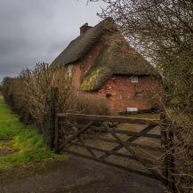 Thatch-roof House - West Kennet, England