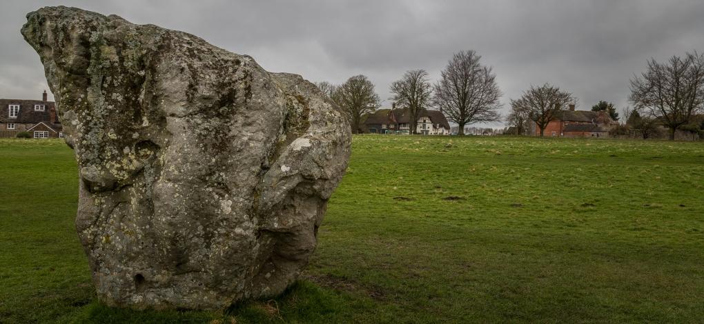 Standing Stones - Avebury Stone Circle, England