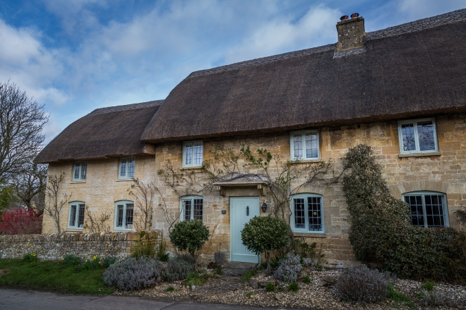 Thatch and Stone Houses - Cotswolds, England