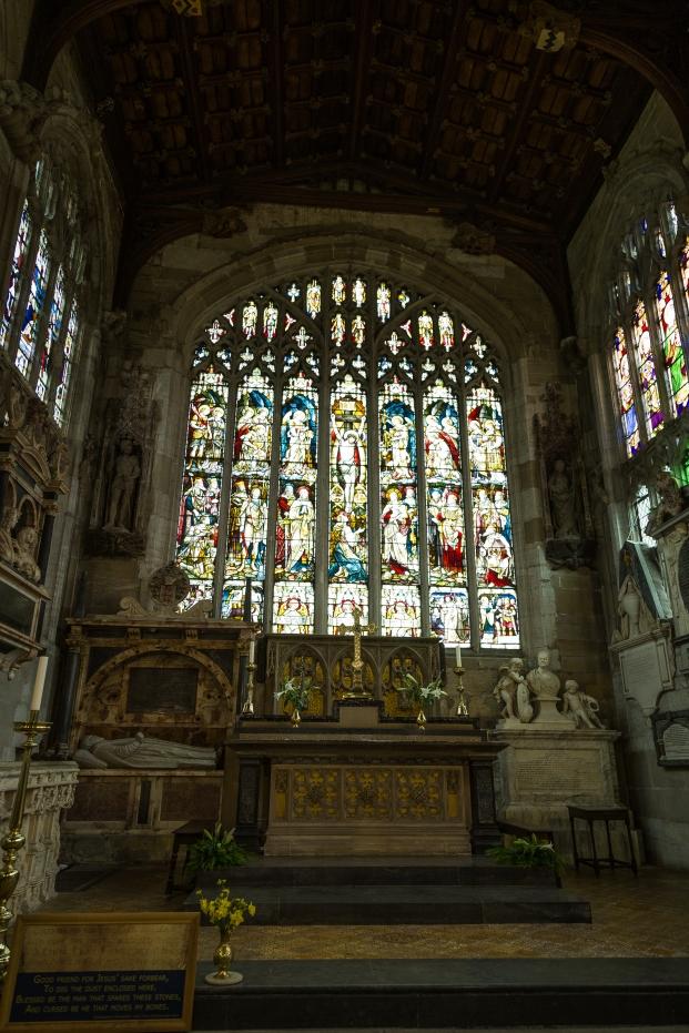 Shakespeare's Grave - Stratford upon Avon, England
